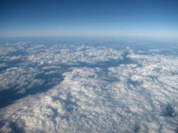 Flugzeug Ausblick