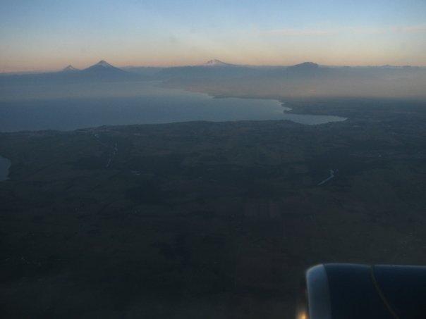 Vulkane bei Temuco