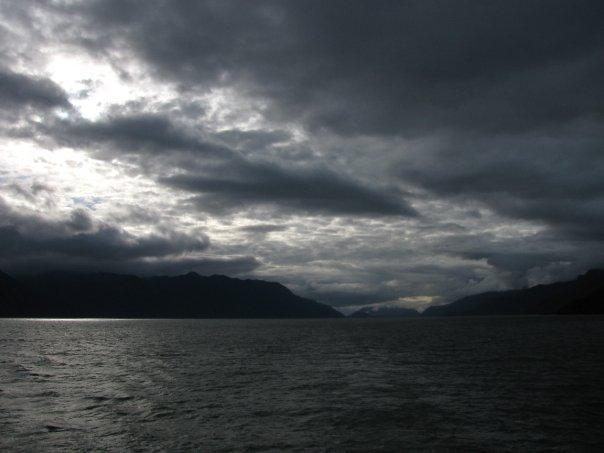 Fjorde Wolken